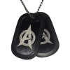 Army Of Justice Support Tags (Double)